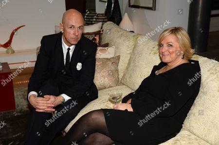 Dylan Jones and Jane Boardman