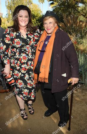 Stock Picture of Melissa McCarthy and Kaye Ballard