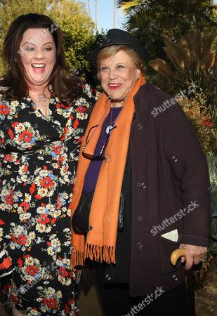 Melissa McCarthy and Kaye Ballard