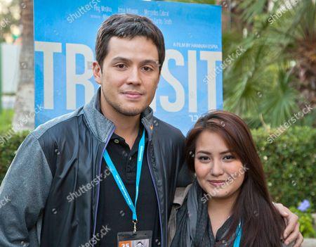 Hannah Espia and Paul Soriano