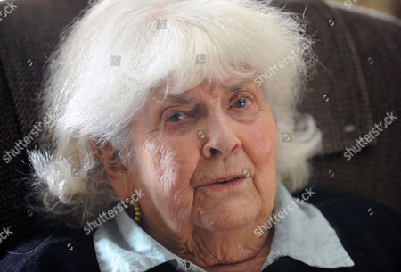 Editorial image of Elizabeth Jane Howard at her home in Bungay, Suffolk, Britain - 13 Nov 2013