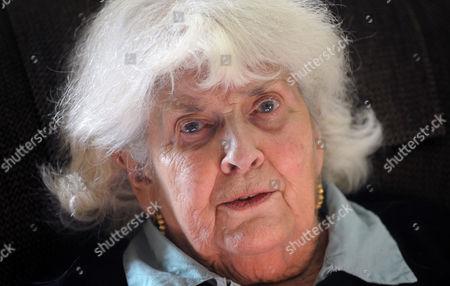 Editorial photo of Elizabeth Jane Howard at her home in Bungay, Suffolk, Britain - 13 Nov 2013