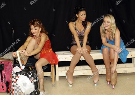 Bonnie Langford, Hayley Tamaddon and Katie Stainsby