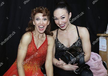 Bonnie Langford and Robin Johnstone