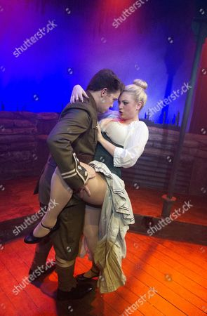 Stock Image of Steven Butler as Peter, Joanna Woodward as Tinkerbell