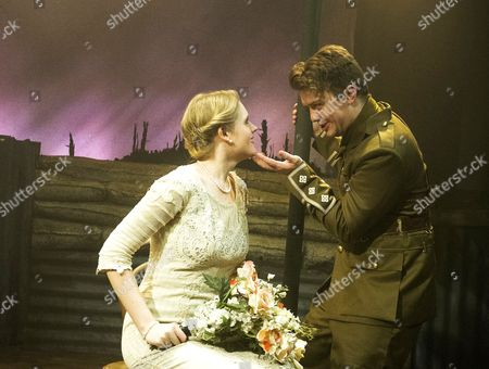 Stock Picture of Steven Butler as Peter, Grace Gardner as Wendy