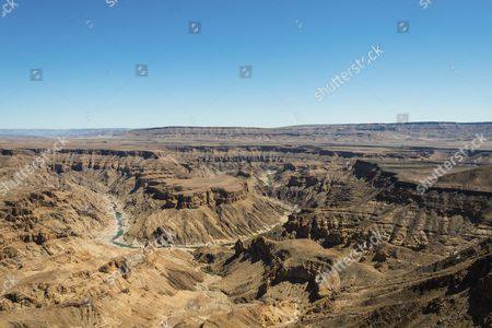Fish River Canyon or Fischfluss Canyon, Namibia