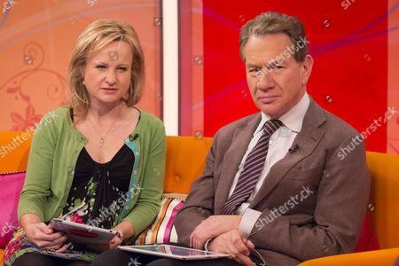 Jane Martinson and Michael Portillo