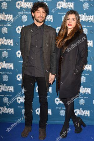 Alex Zane and Lorena Mancini