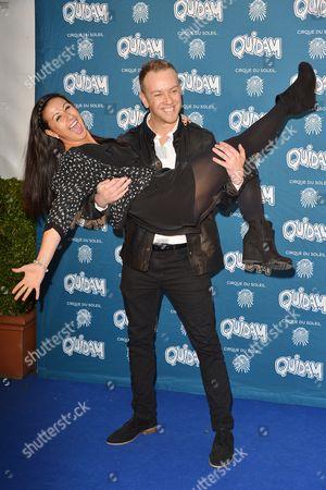 Hayley Tamaddon and Daniel Whiston