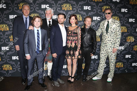 Tim Robbins, Haley Joel Osment, Steve Tom, Tobey Maguire, Kristen Wiig, David Spade and Will Ferrell