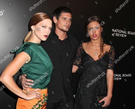 Lea Seydoux, Jeremie Laheurte and Adele Exarchopoulos