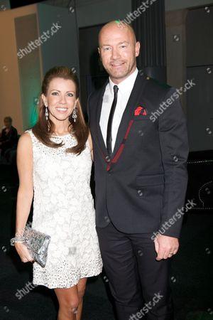 Stock Picture of Lainya Shearer & Alan Shearer