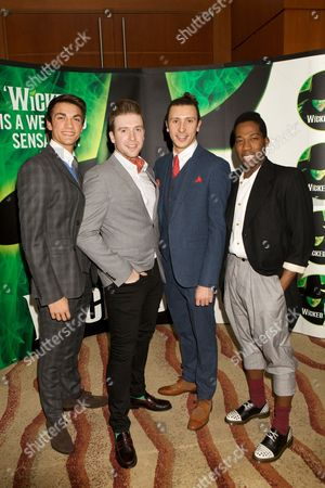 Editorial picture of 'Wicked' musical, London, Britain - 19 Dec 2013