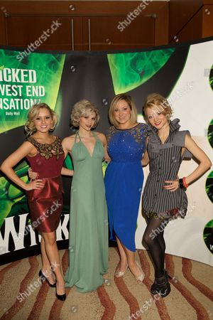 Editorial image of 'Wicked' musical, London, Britain - 19 Dec 2013