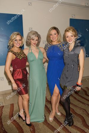 Lauren Stroud, Hannah Toy, Jacqueline Hughes and Sheila Grant