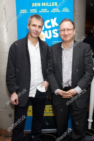 Stock Picture of Colin Swash and Dan Patterson