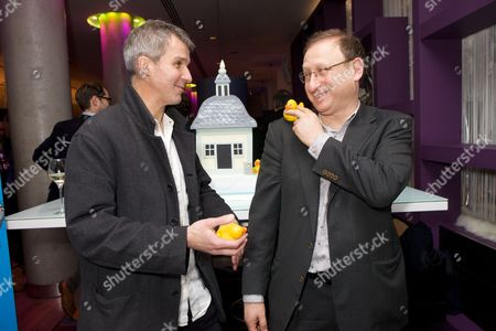 Stock Image of Colin Swash and Dan Patterson