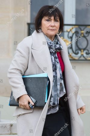 Stock Picture of French Junior Minister for Disabled People and general councilor Marie-Arlette Carlotti