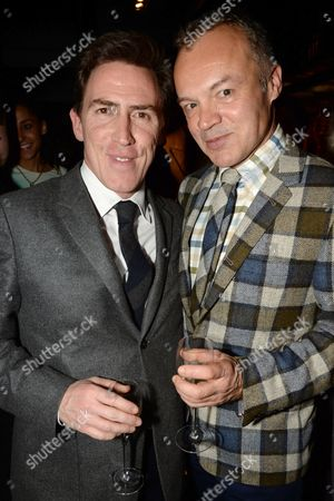 Rob Brydon and Graham Norton