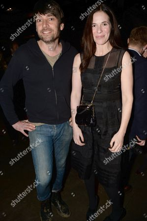 Stock Image of Alex James and Claire Neate