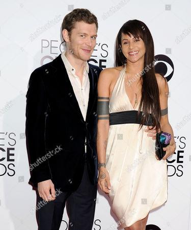 Joseph Morgan and girlfriend Persia White