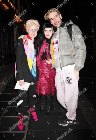 Louise Gray, Princess Julia and Guest