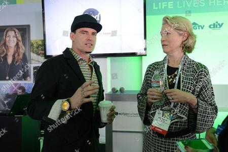 Vanilla Ice and HGTV President Kathleen Finch