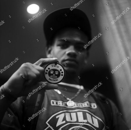 Stock Picture of A Zulu Nation Member, 2007