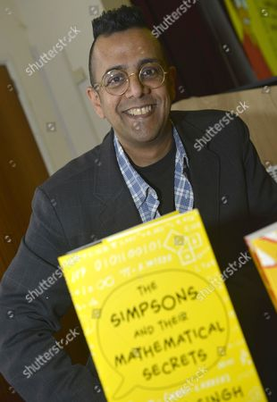Editorial picture of Simon Singh at a lecture and book signing event in Dorchester, Dorset, Britain - 09 Dec 2013