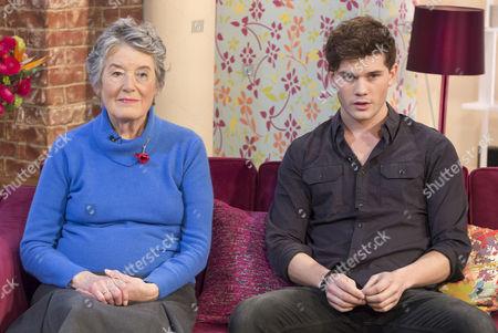Patti Lomax and Jeremy Irvine