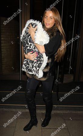 Katie Price and son Jett Riviera