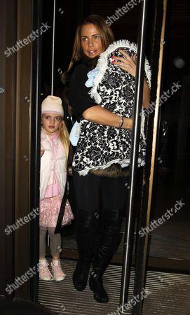 Katie Price, daughter Princess Tiaamii and son Jett Riviera