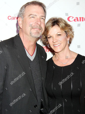 Stock Picture of Bill Engvall, Gail Engvall