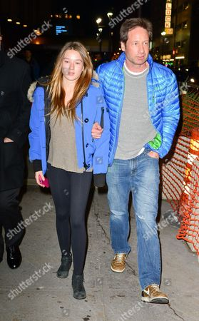 Madelaine West Duchovny and David Duchovny