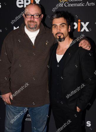 Stock Image of Zak Knutson and Joey Figueroa
