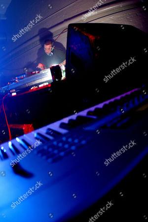 Techno / electro DJ, Andrew Weatherall of Two Lone Swordsmen UK 2000s