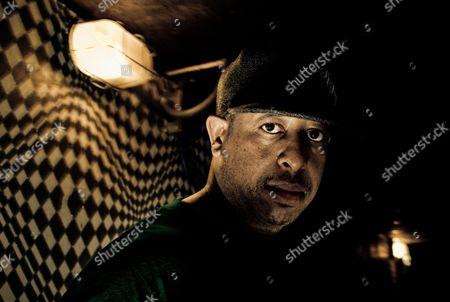 Portrait of DJ Premier of Gang Starr, 2008