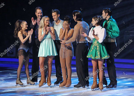 Editorial photo of 'Dancing on Ice' TV show, Elstree Studios, Hertfordshire, Britain - 12 Jan 2014
