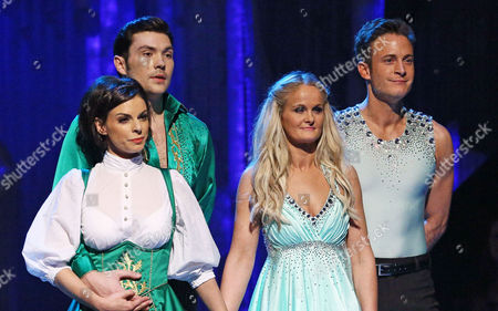 Editorial image of 'Dancing on Ice' TV show, Elstree Studios, Hertfordshire, Britain - 12 Jan 2014