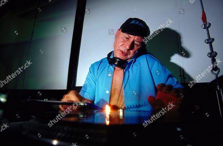 Stock Image of DJ Graham Gold at the Matrix Club, Reading, December 1999