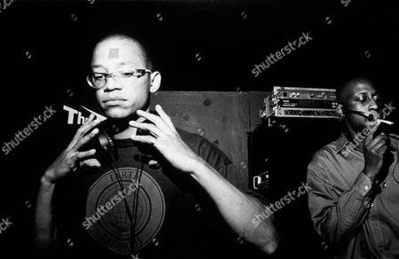 Drum and bass DJ/producer LTJ Bukem, London, UK 1999