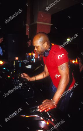 Stock Image of DJ Grooverider at Opera House Bournmouth 01/09/2000