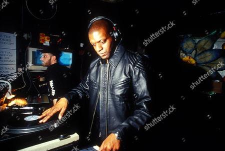 DJ Carl Tuff Enuff Brown at Camden Palace, London 2000's