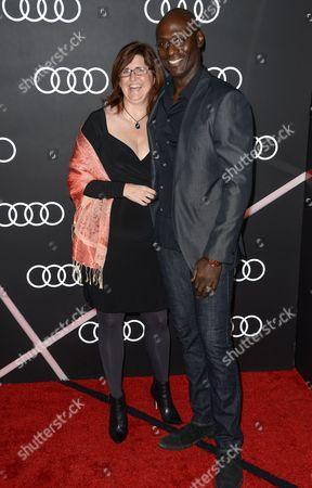 Stephanie Reddick and Lance Reddick