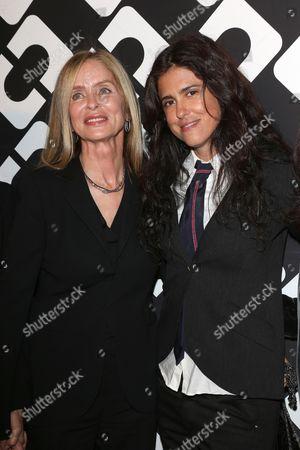 Barbara Bach and Francesca Gregorini