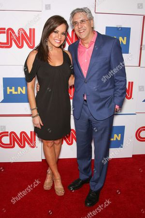 Robin Meade and Albie Hecht