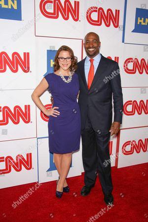 Stock Photo of Sarah Elizabeth Cupp and Van Jones