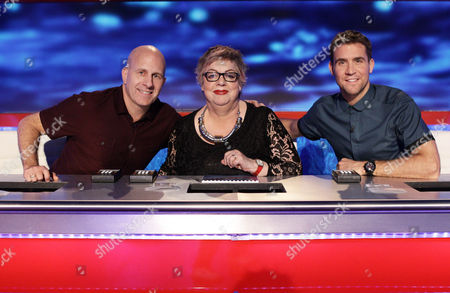 Andy Banks, Jo Brand and Leon Taylor