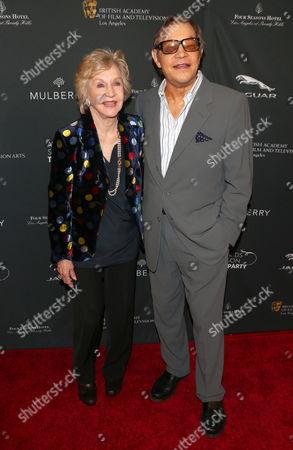 Stock Photo of Michael York and wife Patricia McCallum